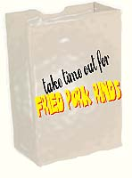 Take time out for fried pork rinds!