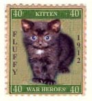 kitten war heroes: fluffy, 1912