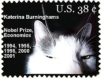 katerina burninghams, nobel prize in economics
