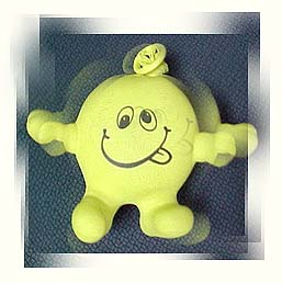 maurice resembled a rubber stress man.